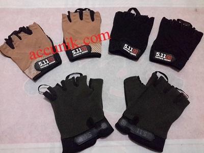 jual sarung tangan 511 glove half finger setengah jari murah meriah