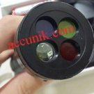 Senter police 4 warna cahaya serbaguna fokus bulat senter unik