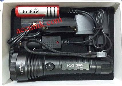 Harga jual Senter police 4 warna cahaya serbaguna fokus bulat senter unik serba guna