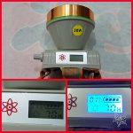 jual murah Senter kepala 7501 sinar kuning panel digital 30wat fokus