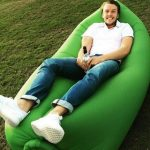 Jual kasur Kursi malas sofa angin ukuran besar