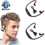 Jual Headset bluetooth sport Bs19 Non microsd headphone murah