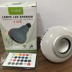 jual lampu led Speaker disco FLECo bluetooth remote