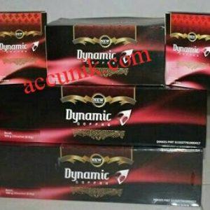 Gratis Biaya pengiriman Jual Kopi Dynamic Original kopi ginseng 1 dus isi 30 sachet kopi cinta