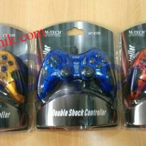 Jual stik game pad komputer single getar Mtech (USB)