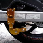Tensiometer penahan rantai sepeda motor aneka warna