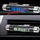Jual Thermometer digital mobil + Jam murah