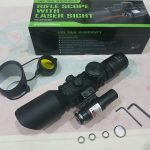 Jual Telescope Teleskop laser senapan angin rifle scope M9 LS3-10x42E (versi 2)
