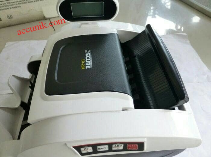 Jual alat penghitung uang money counter secure LD 20A