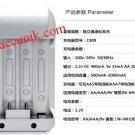 Jual charger batre AA / AAA NI mh 4 slot accunik terbaik