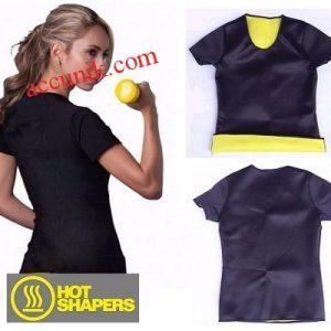 Jual hot shaper kaos baju T sirt kaos pembakar lemak pelangsing