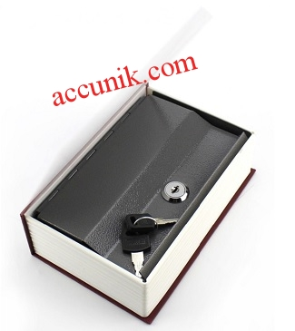 Jual kotak penyimpanan model kamus ukuran L + kunci