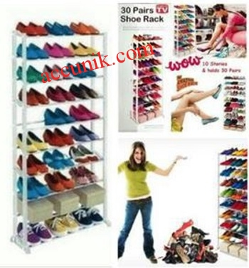 Harga Jual rak sepatu amazing shoe kapasitas 30 pasang