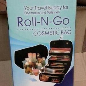 Jual eceran tas kosmetik roll and go murah tas lipat unik