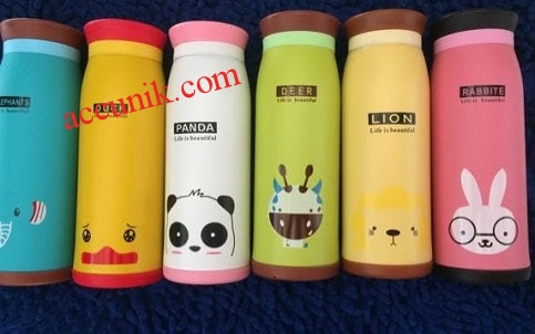 Jual thermos air animal termos original 500ml bahan stainles