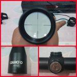 Jual riflescope tele gamo 4×32 teropong bidik senapan angin PCP / gejluk