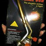 jual kepala korek Gass Type7001NZ Pelebur Logam