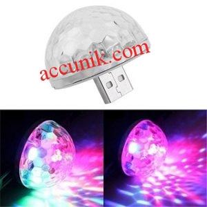 Jual Lampu Disko USB plug N play aneka warna SVT