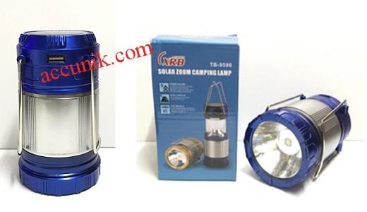 Jual Lampu darurat emergency lentera USB + tenaga matahari 9598