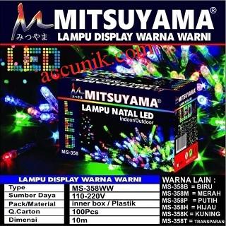 Juallampu led mitsuyama 10 meter Plug n play RGB JS lampu natal Hiasan pajangan tahan air