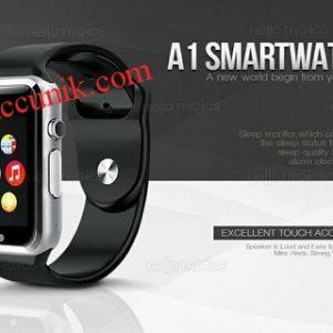 Jual murah obral Smart watch A1 jam tangan handphone pintar Kamera GSM