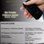 Jual Jammer portable Non antena GSM WCDMA dan CDMAOriginal
