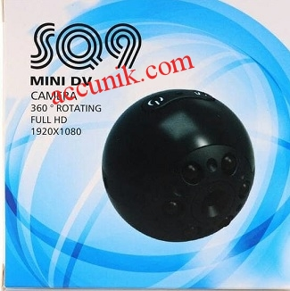 Jual Kamera pengintai SQ9 Night vision HD 1080p sepy cam kamera mini tersembunyi
