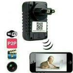 Jual wifi Kamera tersembunyi pengintai Spycam CCTV Adaptor A1