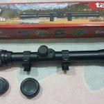 Jual teropong telescope senapan angin rifle scope tasco 4x20WA Tanpa lampu