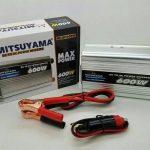Jual konverter listrik inverter 600 watt mitsuyama DC ke AC 220volt