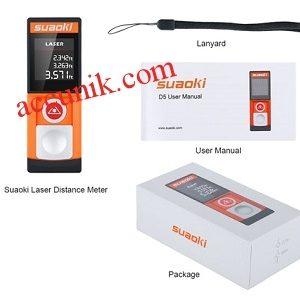 Jual laser jarak distance 20 meter portable Digital