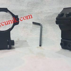 Jual mounting senapan angin tinggi OD 30mm