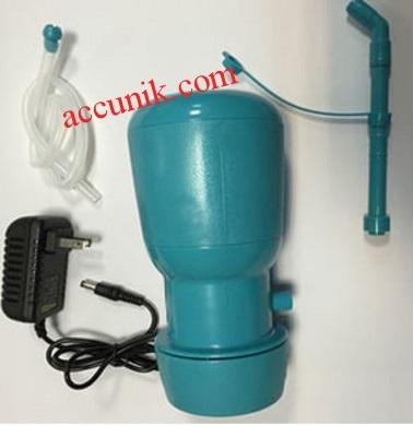 Jual sepaket pompa listrik dinamo galon elektrik ada adaptor elektronik