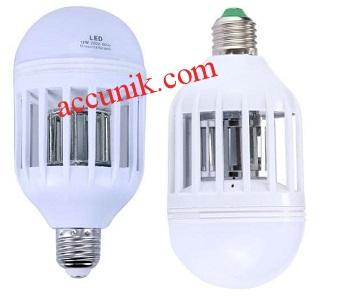 Jual 15 watt Lampu LED bohlam dan pembasmi nyamuk Ungu putih