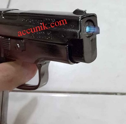 Jual Korek Pistol Sig sauger Hiasan ukuran besar bahan Logam