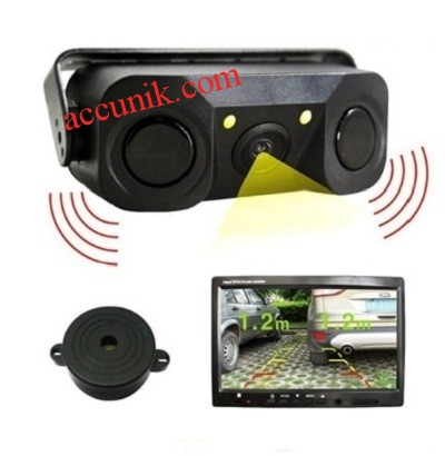 Jual Kamera Parkir mobil Sensor jarak dengan lampu LED