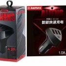 Jual murah 3 Usb Lighter charger mobil remax 12-24 Volt 4.2A
