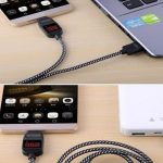Jual Kabel Charger USB panel Digital fast charging data 4 FT android murah