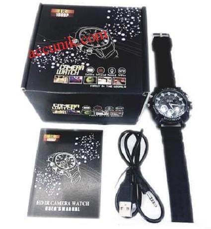 Jual Jam tangan kamera night vision infra merah 8 giga sport (karet)
