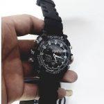 Jual Jam tangan kamera pengintai night vision infra merah 8 giga sport (karet)