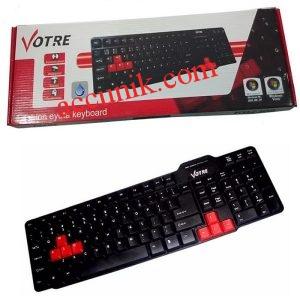jual eceran Keyboard komputer warnet USB standar Votre seperti gambar