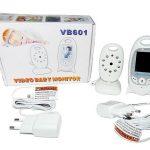 Jual kamera Video Baby Monitor VB601 Night Vision 2.0 Inch lengkap kamera + monitor