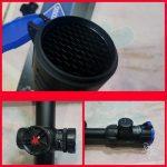 Jual murah tele sniper senapan angin telescope DISCOVERY zoom HI8-32×50 SFIR + lampu
