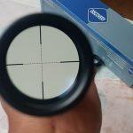Jualriflescope teropong tele senapan angin teleskope zoom DISCOVERY VT-R 4X32 non lampu