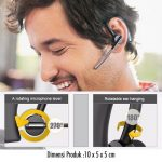 Jual Headset Bluetooth Samsung V8 Voyager black Voice comand DGP