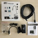 jual mini Kamera wifi kabel kamera endoscope 5 meter kamera snake camera HD 8mm