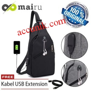 Jual tas USB slempang mairu original U-usb ukuran tangung DGP