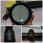 Jual Telescope senapan angin BSA black powder 3-9×40 No lampu