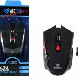 Jual mouse game wireless acetech A30 DGP mouse tanpa kabel Gaming murah