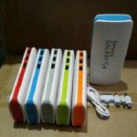 Jual murah power bank 3 output powerbank samsung mini 3 USB